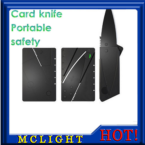 Credit Card Folding Utility Knife Ultra Thin and Superlight with Surgically Sharp Slade Outdoor Pocket Tools(China (Mainland))