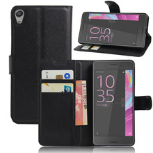 Sony E5 Fashion Wallet PU Leather Case Xperia F3311 F3313 Magnetic Filp Cover Fundas Holder Stand Phone Bags - Shenzhen MOMD Technology Co., Ltd. store