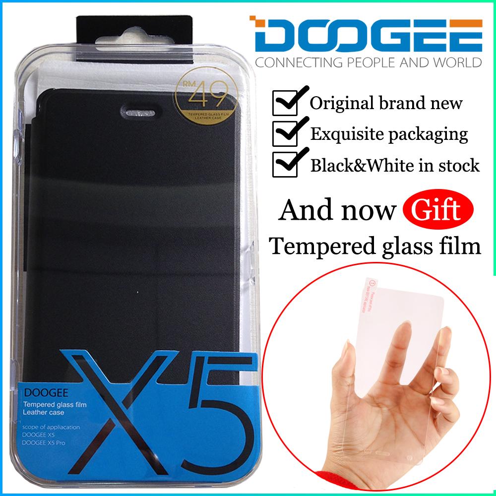 [해외]DOOGEE X5 안드로이드 전화를가죽 휴대폰 케이스/Leathe..