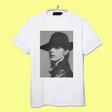 David Bowie graphic vintage fashion 100% cotton tee men women size
