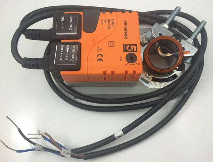 AC85-265V 15Nm non-spring return electric damper controller on/off type, Air inlet damper actuator used for Air conditioning(China (Mainland))