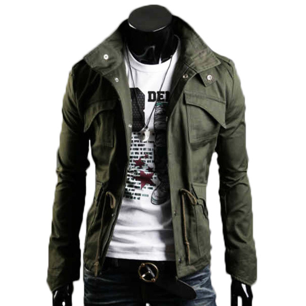 2015 New Fashion Brand Casual Men Jackets And Coat Military jacke Outerwear Coat High Quality Chaquetas Jackets For Men M501(China (Mainland))