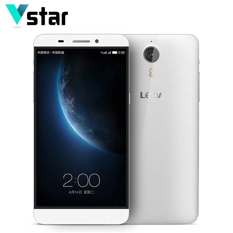 LeEco LETV ONE Le 1 X600 X608 Dual SIM Card Mobile Phone LTE 3GB RAM 5.5 inch Helio X10 MTK6795 Octa Core Android 13MP(China (Mainland))