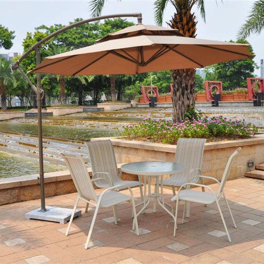 2.7 m double top with marble seat banana umbrella outdoor umbrellas patio advertising sun beach leisure<br><br>Aliexpress