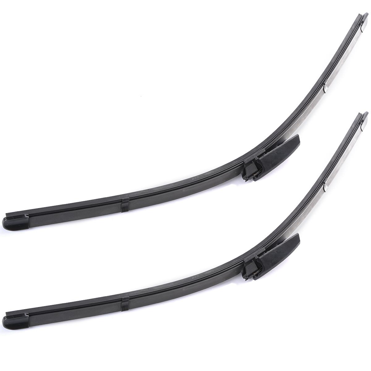 2X 22″ Left Right Windscreen Wiper Blade For Audi