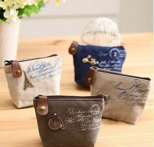 2016 New Vintage Mini Coin Purse Wallets Women Cheap Retro Classic Nostalgic Small Kids Money Pouch Bag Holders Christmas Gift(China (Mainland))