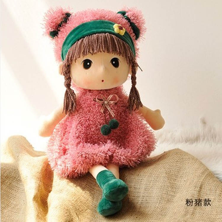 2015 New Fashion Girl Doll Cute Plush Toys Figure Doll Soft Toy Best Birthday Gift For girl Kids Pendant brinquedos