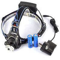 Налобный фонарь Zoomble 2000lm Cree Xm/l T6 + 2 X 18650 +