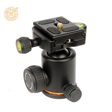 New QZSD Q06 Aluminum Tripod Ball Head / Ballhead With Quick Release Plate & Two levels Max Load 6KG For Benro Manfrotto Q999S