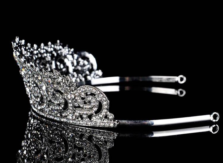 Topwedding Rhinestones Bridal Headpiece Wedding Tiara Crown, women_ (4)