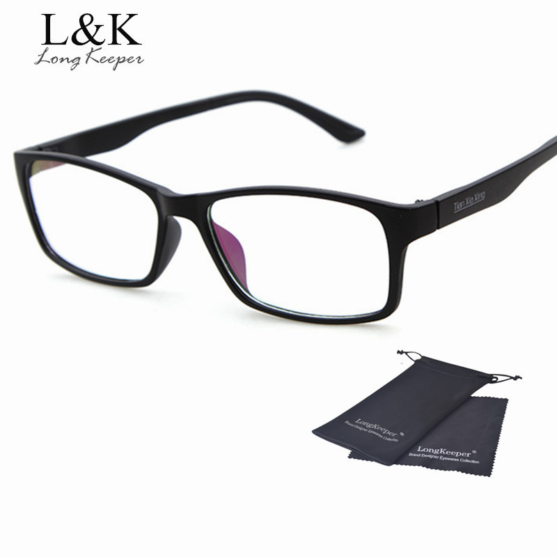 2017 hot glasses frames mens optical frame vintage square glasses black eyewares clear men eyewares cheap price good quality