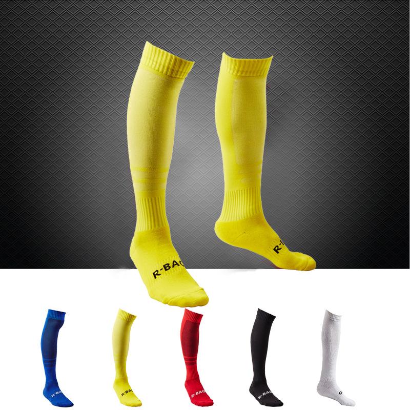 Men Soccer Socks 2015 Top Thai Quality Football Game Profession Clubs Thicken Jordan Towel Socks Soccer Long Stocking(China (Mainland))