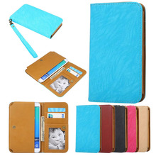 2016 Hot Fashion PU Leather Protection Phone Cover 5 Colors Card Wallet Bluboo X9 - JUNKUN store