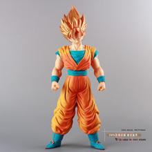 Free Shipping Anime Cartoon Dragon Ball Z Super Saiyan 4 Son Goku PVC Action Figure Collection Model Toy 36CM DBFG046