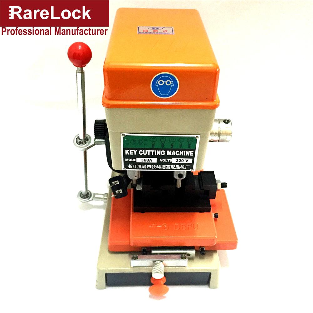 Rarelock 368A Locksmith Supplies Tools Lock Pick Set Professional Duplicated Car Door Key Cutting Copy Machine(China (Mainland))