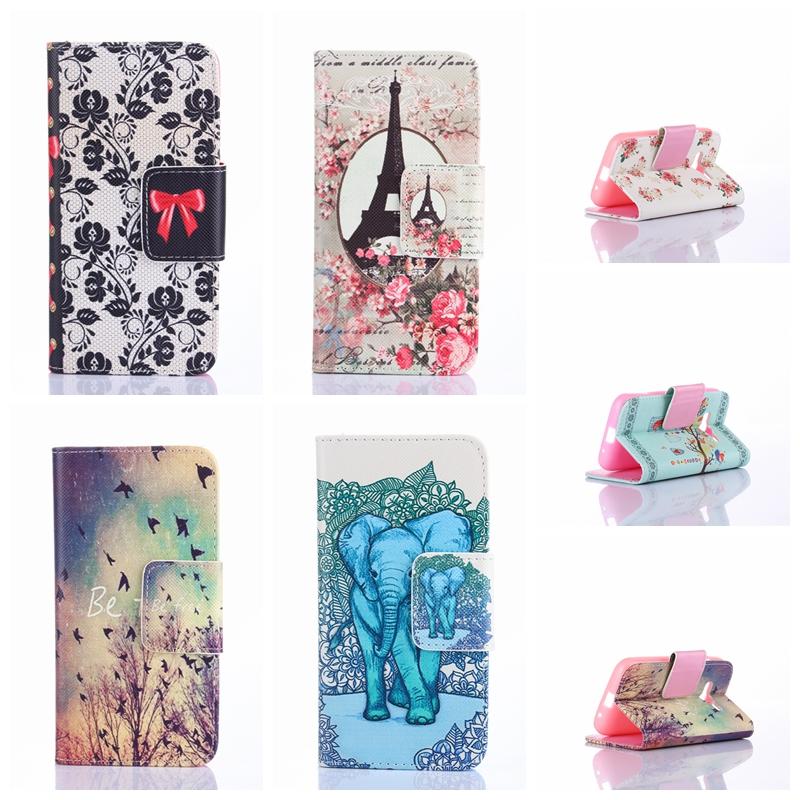 25 Patterns Fashion Stand Flip PU Leather font b Phone b font font b Case b
