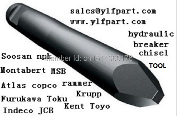 atlas copco hydraulic breaker hammer chisel tool pb110. Black Bedroom Furniture Sets. Home Design Ideas