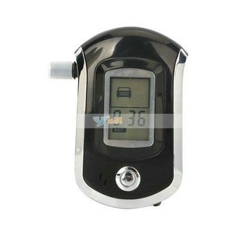Digital Breath Alcohol Tester LCD Display For AT6000 Free Shipping - 23000005