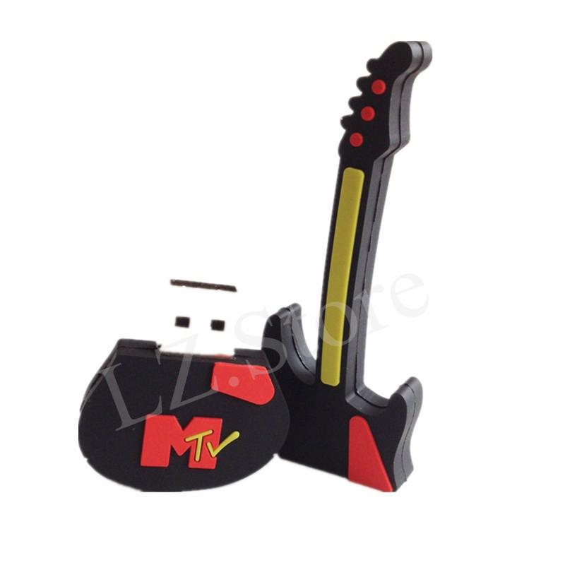 mini pen drive Guitar gift pen drive 8gb 16gb 32gb 64gb 128gb 256gb guitar cartoon usb flash drive Violin pendrive(China (Mainland))