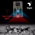 Photo traps 12MP 1080P HD Night Vision Hunting Guard Scouting camera Outdoor hidden wireless security camera
