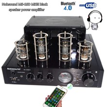 Buy NEW black Nobsound MS-10D MKII tube amplifier Bluetooth amplifier Audio headphone amp usb lossless music Play Hifi 2.0 amplifier for $86.00 in AliExpress store