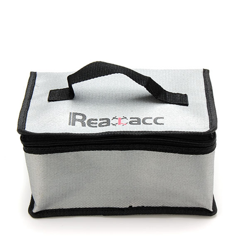 New Arrival Fireproof RC LiPo Battery Safety Bag Safe Guard Realacc Fire Retardant Lipo Battery Bag 220x155x115mm With Handle(China (Mainland))