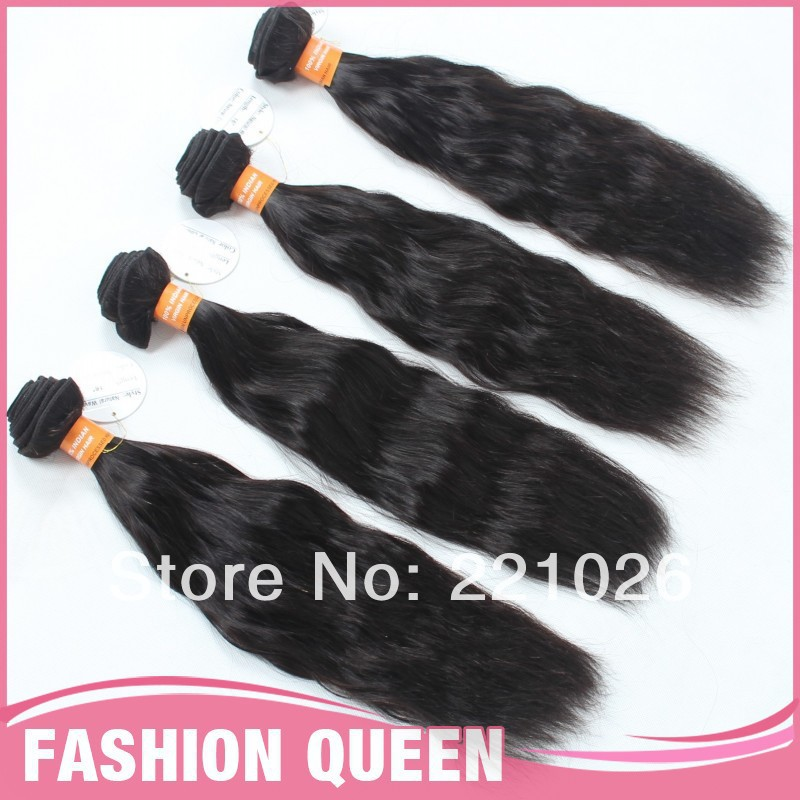 Indian Virgin 4 pcs lot Natural Weave Good Price For Sale<br><br>Aliexpress
