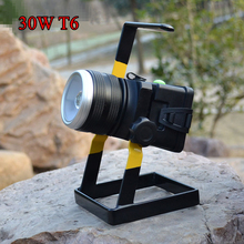 Rechargeable Waterproof 30W Outdoor Flood Light/Work Light