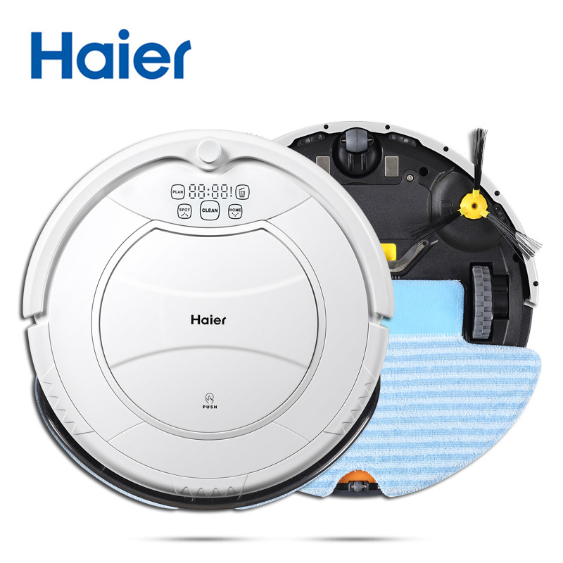Original Haier Pathfinder Robot Vacuum Cleaner Robot with Automatic Charging & Sweeping Smart Cleaning Microfiber Dust Cleaner(China (Mainland))