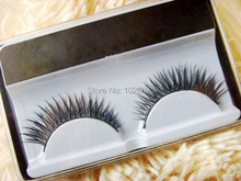 2Pairs / lot High Quality Fake False Eyelashes Eye Lashes Brand Makeup Eyelash Extension
