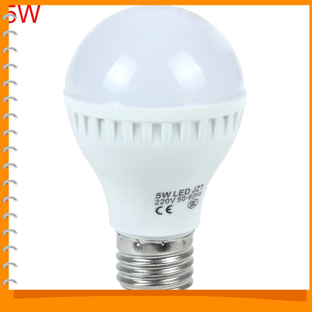 3pcs 5w E27 220v 12 X 2835 Led Bulb Energy Saving Led Light Lamp Bulb For Home Use Dropship