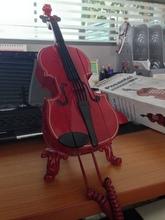 FREE SHIPPING  Fashion Latin style violin cartoon telephone creative home decorations landline telephone corded