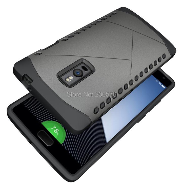 Гаджет  Dual Heavy Duty armor Shield Case For OnePlus 2 case One Plus Two  OnePlus Two Protective Skin Double Color Shock Prooffor #1  None Телефоны и Телекоммуникации