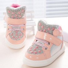 2015 new fashion Kids Children shoes wings shoes Baby Boys and Girls Shoes LED lights sequined sneakers for Children