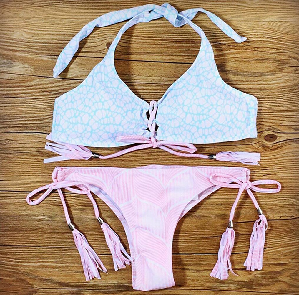 Sexy Womens Push up Bikini Set Bandage Swimsuit Swimwear Brazilian Bathing Suit