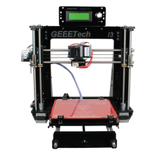 8mm Thick Acrylic Quality High Precision Reprap Prusa i3 LCD 2004 Gift DIY 3D Printer Kit