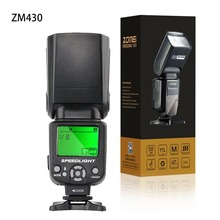 Buy Zomei Wireless Mini Flash Speedlight ZM430 Speedlite Pentax Canon Nikon Hot Shoe Flash Speedlite Photo Flash Accessories for $45.44 in AliExpress store