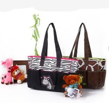 2015 New 3Pcs MultiFunction Baby bag Diaper Bags Mummy Bags Should Bag For Baby Handbag Tote
