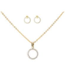 Mới 12 phong cách geometric zircon pha lê mặt dây chuyền vòng cổ trang sức Tình Yêu trái tim chữ thập key vòng hình ngôi sao dây chuyền & mặt dây(China)