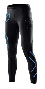 New 2015 2XU Men Women Compression Tights Sport Gym Bodybuilding Long Sleeve Tops and Pants Quick