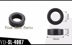 50pcs For Toyota Car Fuel Injector Viton Seals  Size:16*9*5.8mm VD-SL-4007