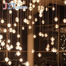 1pcs Meteor Crystal Chandeliers Guaranteed 100% Magic Crystal Ball with Bubble lustres de cristal Home Lightings(China (Mainland))