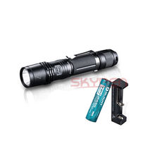 Fenix PD35 XM-L2 U2 LED Tactical Flashlight w/ 3400mAh Battery&Free XTAR Charger