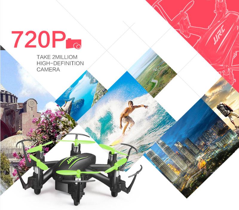 JJRC H20C Mini Drone 2.4G 6 Axis Gyro 4CH RC Hexacopter Headless Mode RTF Quadcopter Fashion Remote Build in HD Camera 2.0MP