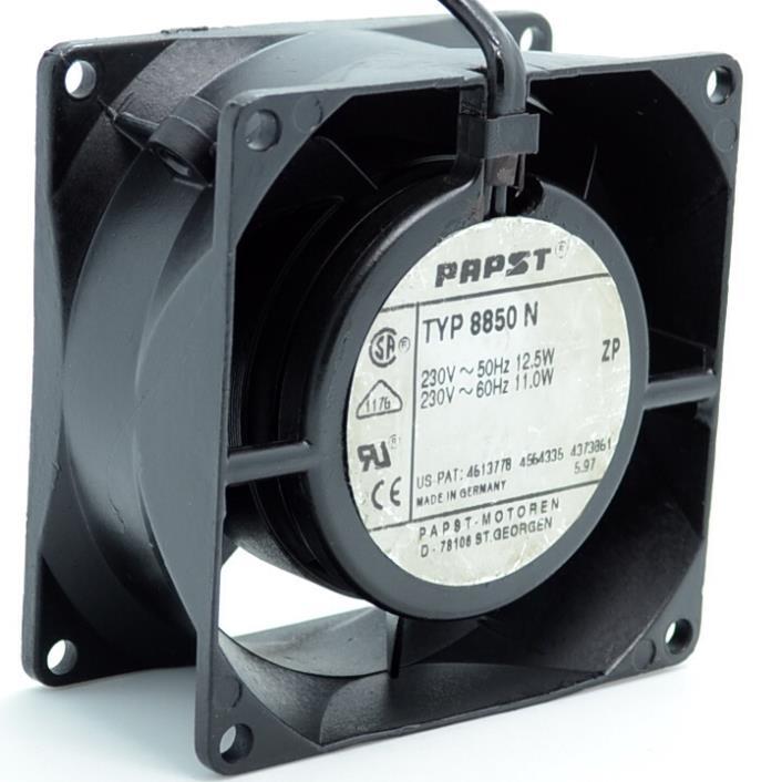 New 8cm fan 8038 230V 11W AC high temperature metal fan TYP8550N 80*80*38mm