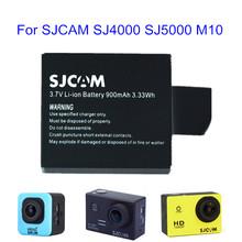 Original sj4000 battery 900 mAh Rechargeable 3.7V  Li-ion Battery For SJCAM SJ4000 SJ5000 M10 action camera replacement battery