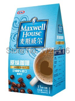 Imported coffee 3 in 1 coffee flavor 143g free shipping