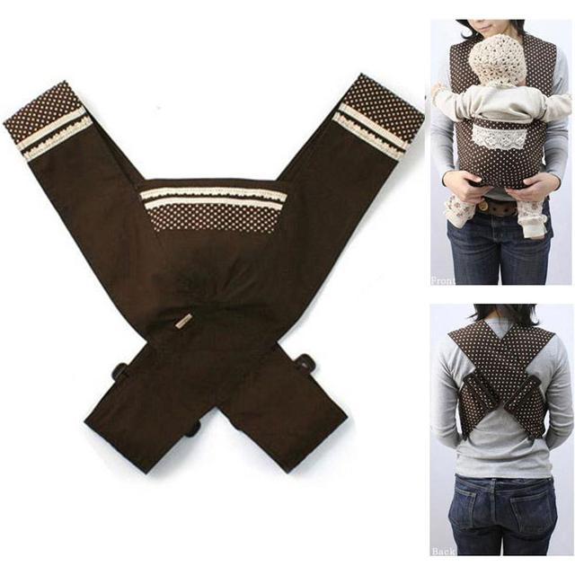 Регулируемый рюкзак-слинг Minizone, из хлопка, в японском стиле, для переноски детей от 3 до 3 месяцев