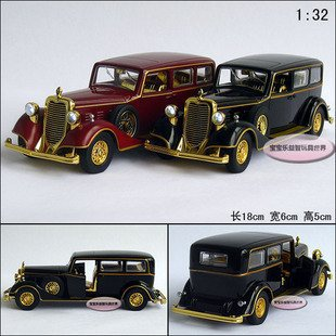 New Cadillac 1:32 The Chinese Emperor's Car Diecast Model Car Toy Collection Red B320(China (Mainland))