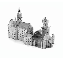 Finger Rock Toys 3D Puzzle Metal Buildings Paris Eiffel Tower Big Ben DIY  Model Worlds Famous Architecture DIY Jigsaw Toy Gift(China)